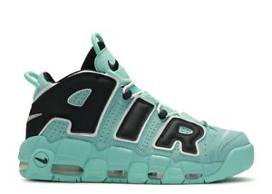 Nike Men's Air More Uptempo 96 OS Light Aqua Black White CN8118-400