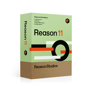 New Propellerhead Reason 11 UPGRADE from 1 10 Reason Pro Mac PC eDelivery $129.00