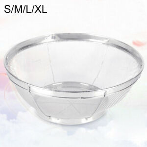 Kitchen Rice Sieve Washing Bowl Food Vegetables Cleaning Strainer Drain Baskets