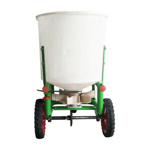 265lbs Tow-Behind ATV Tractor Broadcast Spreader Seeder Fertilizer Seed Snowmelt