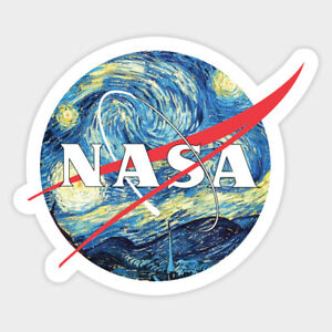 US Space Force Starry Sky NASA Ship Decal Wall Decor Bumper Laptop Sticker $4.99