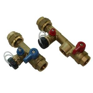 Threaded Plumbing Installation Valve Kit Water Heater Pressure Relief Friendly