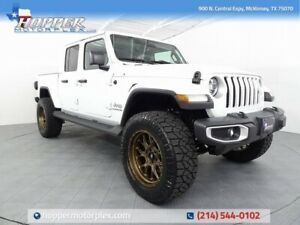2020 Jeep Gladiator Overland 2020 Jeep Gladiator Overland 2596 Miles Bright White Clearcoat Pickup Truck 6 Au