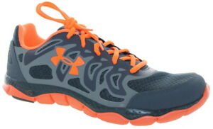 Under Armour Men's Micro G Engage Lace-Up Athletic Shoes LeadBlaze Orange
