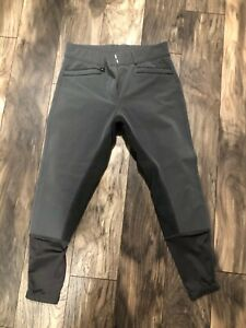 Ovaiton Ladies' Celebrity Slim Secret Full Seat Breeches - Used - Gray - 32R