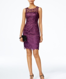 Adrianna Papell Lace Sheath Dress $179 Size 18 # 2NB 176 Blm $19.24
