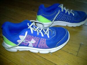Under armour girls athletic shoes  size 2