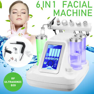 Face Sauna Skin Care Steam Machine Oxygen Inject Machine 6-in-1 facial massage
