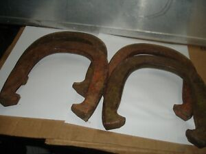 4 diamond double ringer  metal   horseshoes pitching horse shoes Duluth MN
