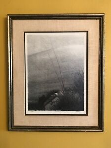 Robert Kipness (#1) Lithograph Pencil Signed Titled