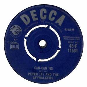 Peter Jay And The Jaywalkers Can Can #x27;62 7quot; Record Single GBP 3.99