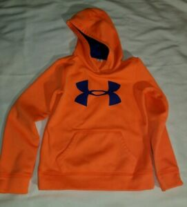 Under armour Girl's Hoodie Small Youth Orange