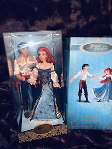Disney Fairytale Designer Limited Edition Ariel And Eric Couple