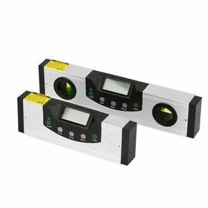 600mm Digital Display Infrared Level Angle Ruler Laser Level Aluminum Alloy LCD