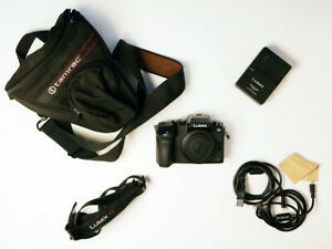 Panasonic DMC-G7K LUMIX G7 16.0MP Mirrorless 4K Camera (Body Only) +PLUS EXTRAS+