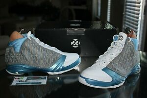 Air Jordan 23 XX3 Titanium University Blue CDDVD 318474-151 Size 10.5