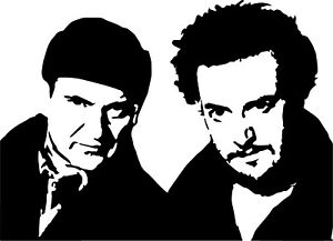 Home Alone Harry amp; Marv VINYL DECAL Joe Pesci Daniel Stern Christmas sticker $3.24