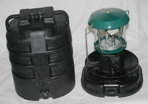 VTG Century Propane Portable Camp Lantern 2 Mantle Model 7056 in Case Green A $38.74