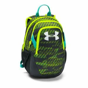 Under Armour Youth Medium Fry Backpack High-Vis Yellow Water Resistant
