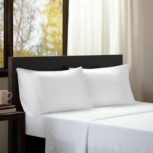 Luxury 3pc White Microfiber All Season Wrinkle-Free Sheet Set - TWIN