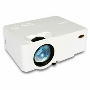 1080P 4K Mini Portable Projector HD LED Home Theater Projector Movie Video TV