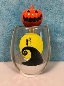 Disney Nightmare Before Christmas Wine Glass amp; Bottle Stopper *You Choose Style*