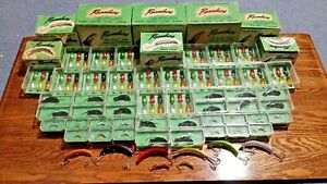 HUGE LOT OF 142 RUSSELURE FISHING LURES RARE COLLECTION BOXES CASES FLY LURE