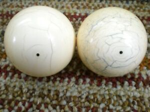 Antique Pool Cue Ball