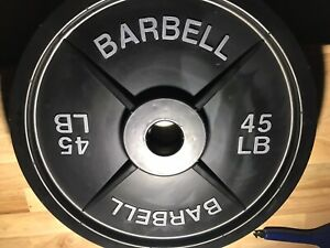 Fake Weights Barbell 45 LB Pair - Read