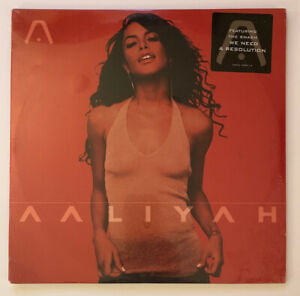 Aaliyah - Self Titled - 2001 MEGA RARE US Album Factory SEALED w Hype Sticker