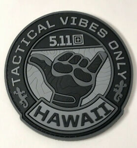 5.11 TACTICAL ** TACTICAL VIBE ** MORALE PATCH ~ SOLD OUT ~ HAWAII EXCLUSIVE!!