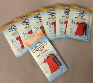 New 6 Count Woolite At Home Dry Cleaner Fresh Scent Clothes