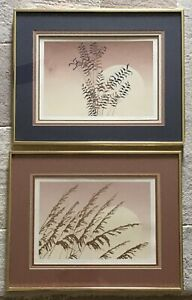 Pair Of Vintage Lithographs Hand Signed And Numnered Limited Edition $49.99