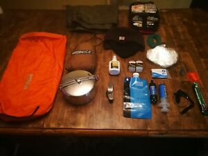 Hiking Backpacking Camping Gear Lot  Bundle