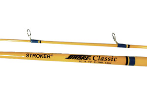Sabre Pro Stroker Classic Freshwater Spinning 7#x27;6quot; 2 Piece Fishing Rod SC75