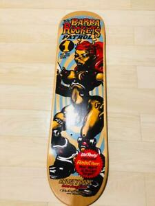 Rockin'Jelly Bean Skate Board Deck Rare Unused Good Condition Japan Art E1