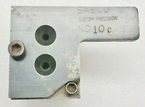Saeco #10C  2 Cavity Bullet Mold 38 Cal .358 Dia 158gr Round Nose Double Cavity