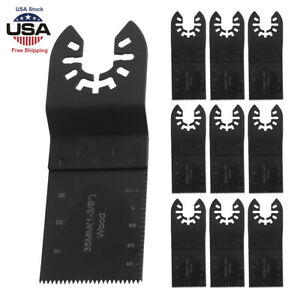 10pcs 35mm Oscillating Multi Tools Wood Saw Blade for DeWalt Porter Cable Decker