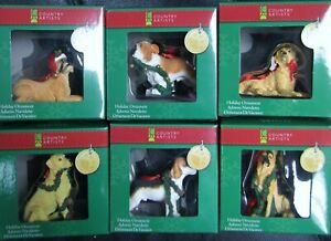 Dog Decorations Puppy Dog Christmas Ornament 2010 Beagle Boxer Lab Bull Dog