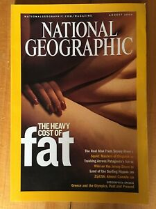 National Geographic Magazine August 2004 The Heavy Cost Of Fat Squid Fat
