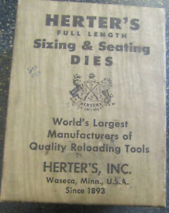 Herter's 32 Win Spl - Sizing & Seating Dies