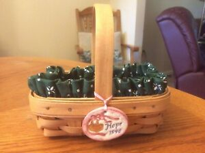 Longaberger 1996 Horizon of Hope Basket Combination ** EUC! **