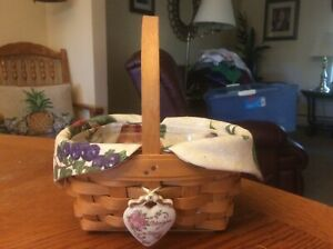LONGABERGER 1999 HORIZON OF HOPE BASKET COMBINATION  EUC!
