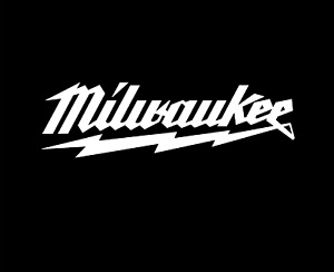 Milwaukee tools  vinyl decal sticker  (see item details for size)