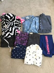 Lot Of Girls Clothing Size 8 1012 Justice Under Armour H&M Nautica