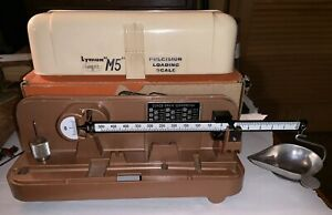 Lyman Ohaus Precision M5 Reloading Scale Complete In Box Winstructions Exc