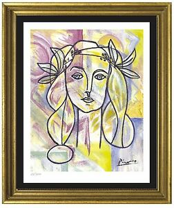 Pablo Picasso SignedHand-Numbered Ltd Ed