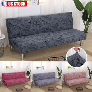 Seat Stretch Spandex Chair Armless Sofa Couch Cover Elastic Slipcover Protector $11.59
