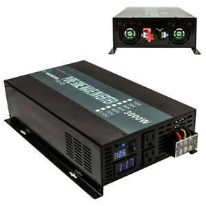 Reliable Pure Sine Wave Power Inverter 3000w 24V Converter