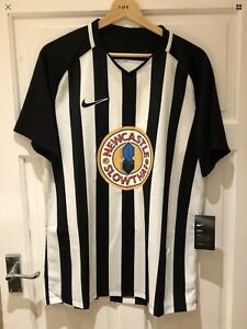 SLOWTHAI RARE LIMITED EDITION NIKE DRI-FIT NEWCASTLE FOOTBALL SHIRT - SIZE L